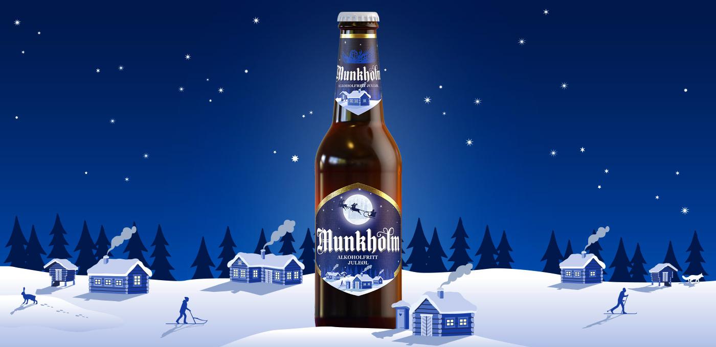 Munkholm alkoholfritt juleøl